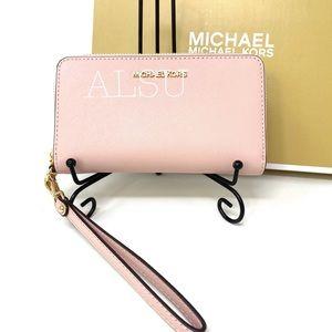 Michael Kors Flat MF Phone Case Wallet LG Blossom
